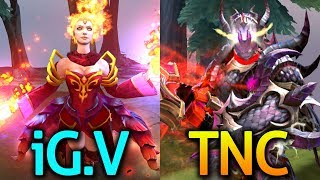 iG.V vs TNC - The International 2017 Group Stage Day 3