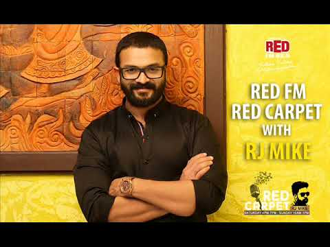 Jayasurya with RJ Mike in Red FM Red Carpet | Captain | Complete Epsidoe