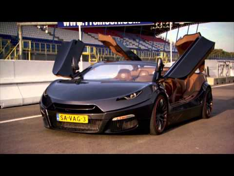 SUPERCAR: The Savage Rivale Roadyacht GTR - Fifth Gear