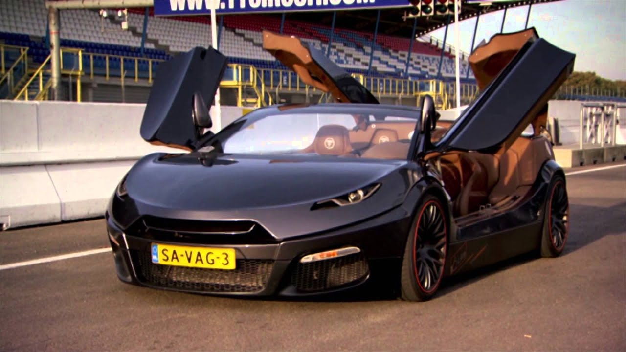 SUPERCAR: The Savage Rivale Roadyacht GTR - Fifth Gear - YouTube