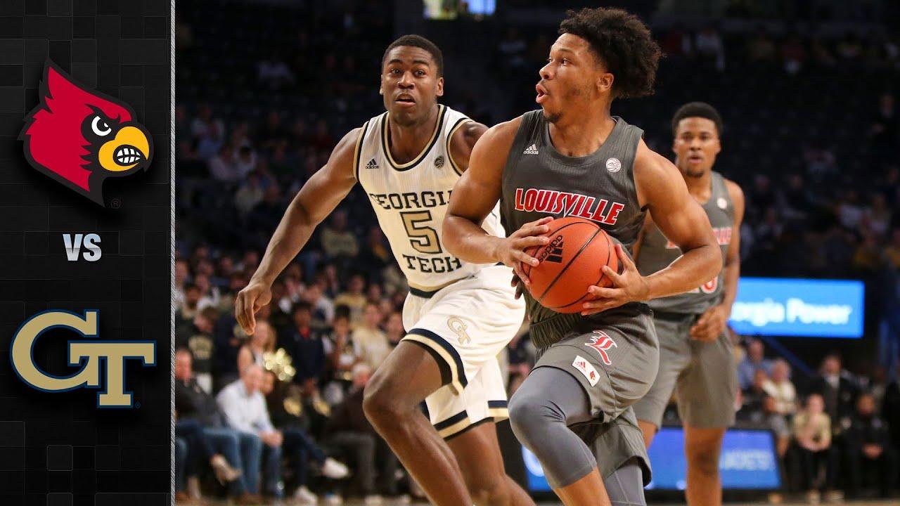 Louisville Vs Georgia Tech Men S Basketball Highlights 2019 20 Youtube