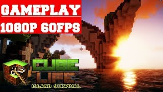 Cube Life Island Survival Gameplay (PC)