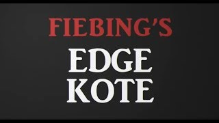 Vídeo: Edge Kote Fiebing's 4oz (118 ml)