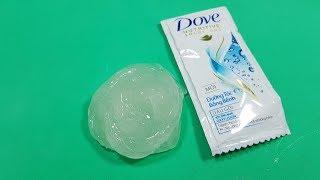 Slime 1 Thành Phần Chỉ Dầu Gội DOVE ! Diy Slime shampoo