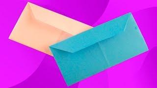 Как сделать конверт из бумаги а4 своими руками. Оригами из листа а4. Origami