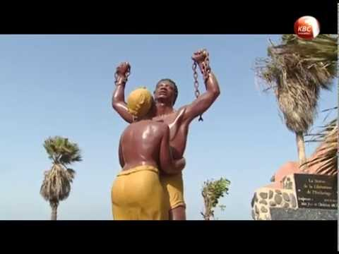 Goree Island in Senegal has its past, it was a holding ground for slaves