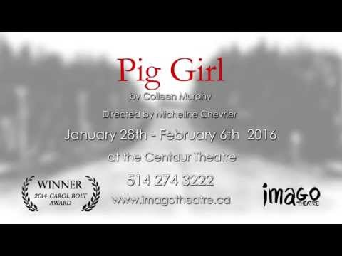 PIG GIRL by Colleen Murphy