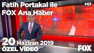Erdoğan: Yargı İmamoğlu'nun önünü kesebilir! 20 Haziran 2019 Fatih Portakal ile FOX Ana Haber