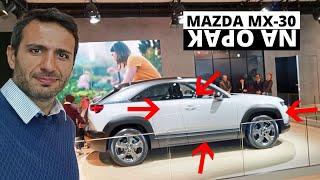 Mazda MX-30 - WSZYSTKO na opak