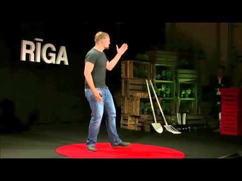 Simple Pleasures: Chewing on a First World Problem | Karlis Celms | TEDxRiga