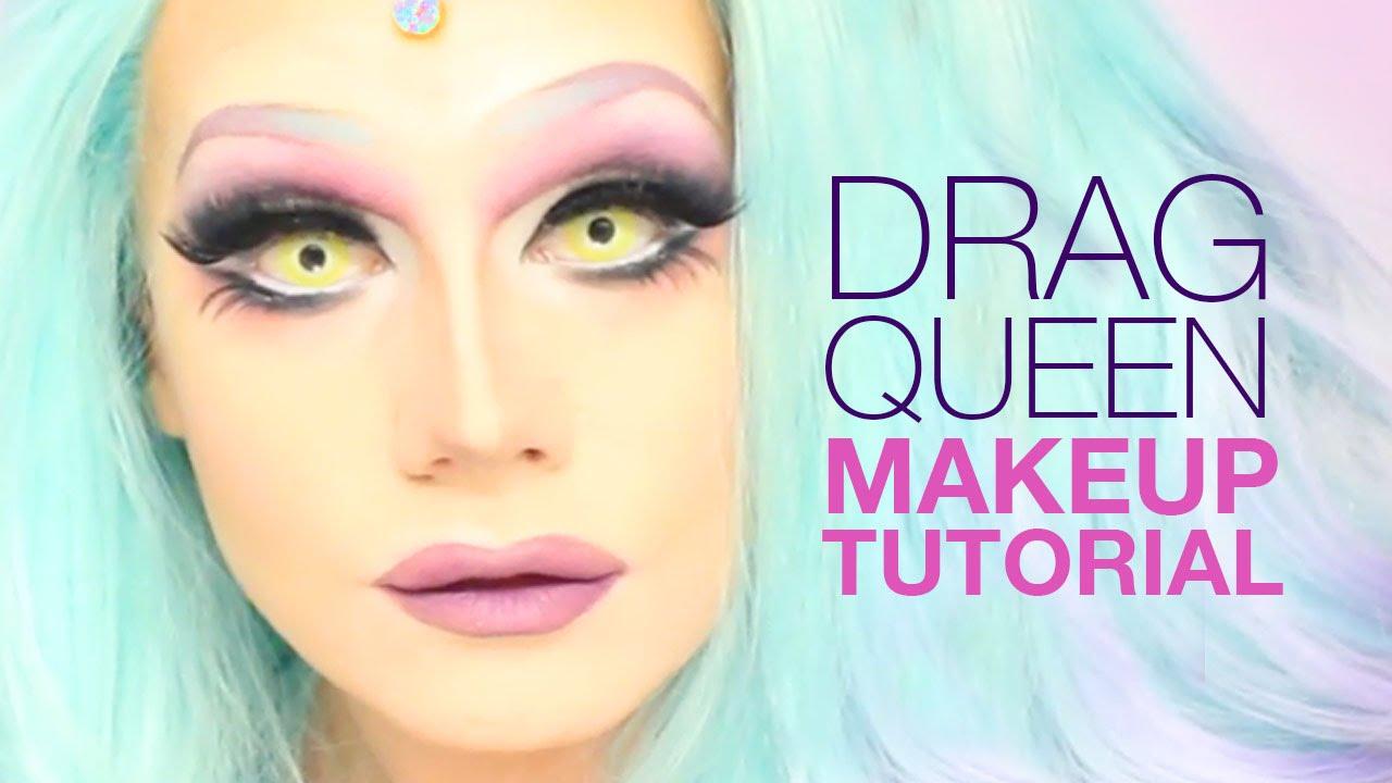 Drag queen makeup tutorial youtube baditri Images