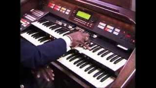 Aaron Thomas on the Hammond XH-273 Elegante Organ