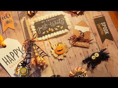 13 Days of Halloween – Day 6 | Halloween Embellishments (Part 1)
