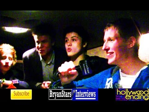 Hollywood Ending Interview Allstar Weekend Tour 2012