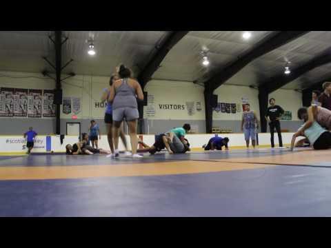 Wrestling Clinic w/Brent Fryia, 2016 ASWCO-N7 Multi Sport & Cultural Camp Sagamok