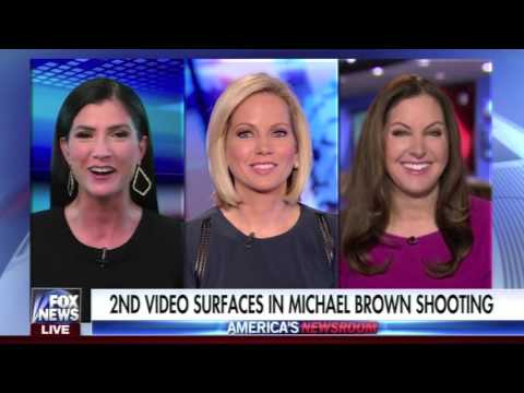 2nd Video Surfaces in Michael Brown Shooting- Leslie Marshall on America's Newsroom 3/14/17