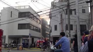 2013年5月18日 大阪市淀川区三津屋中の火事