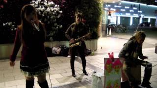 浜松駅北口 路上ライブ WATALU yurie.