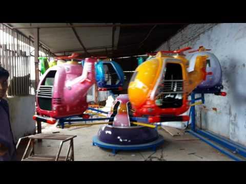 Helicopter Amusement Rides by Vishvakarma Amusement Games, Ahmedabad