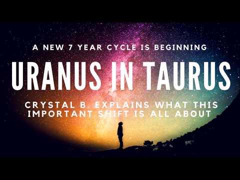 Uranus in Taurus Transit 2018-2026