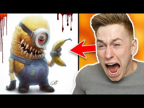 This is what the sweet Minions will look like?! 😱😰