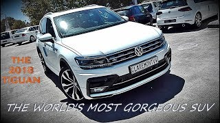 The World'S Most Gorgeous Compact Suv | The New 2018 Volkswagen Tiguan R-Line Highline
