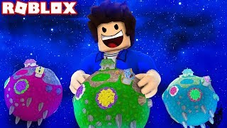 I DOMINATED SEVERAL PLANETS IN THE ROBLOX!!!