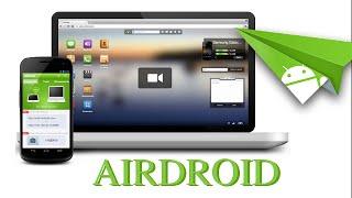 Application Airdroid pour connecter votre smartphone sur le PC via votre Wifi