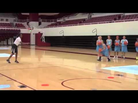Offensive Drills for Youth Basketball   Square Up Layups by Tara VanDerveer