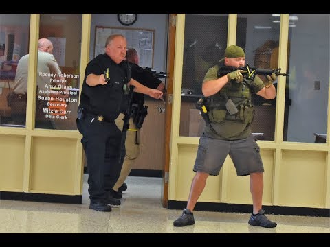 Hawkins County ACTIVE SHOOTER DRILL 7 24 18