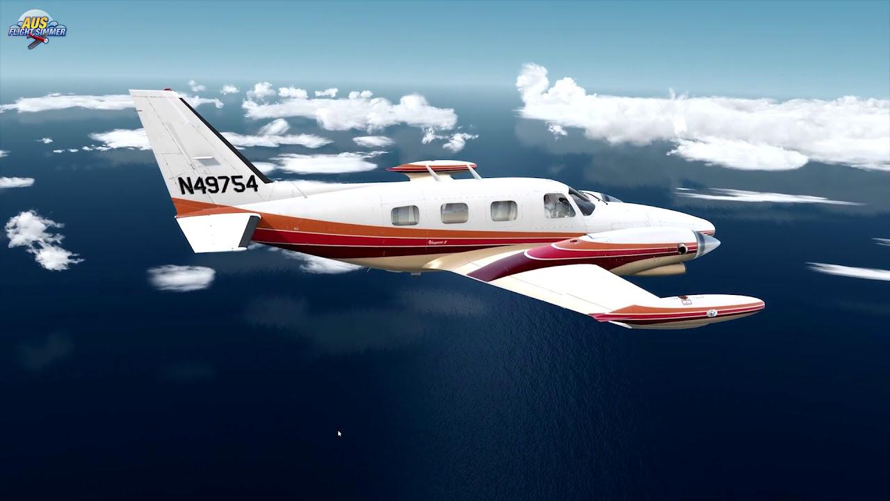 Test Drive | Carenado Pa31t Cheyenne Ii | Prepar3d V3 | 4k  Aus Flight  Simmer 21:03 HD
