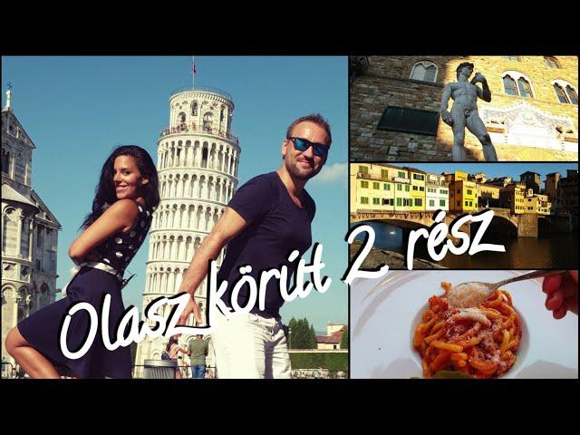 OLASZ KÖRÚT 2. RÉSZ - Firenze, Pisa, Bologna | Ansnitt Travel Film - Tamás Anita