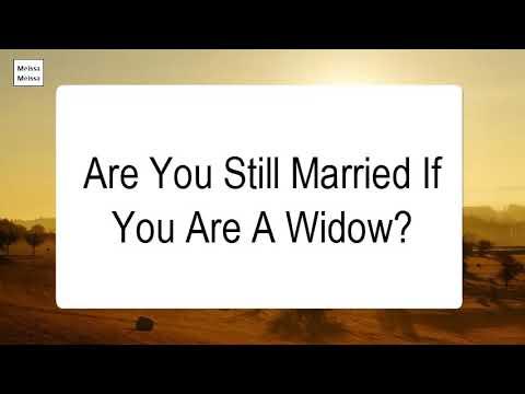 widowhood and dating