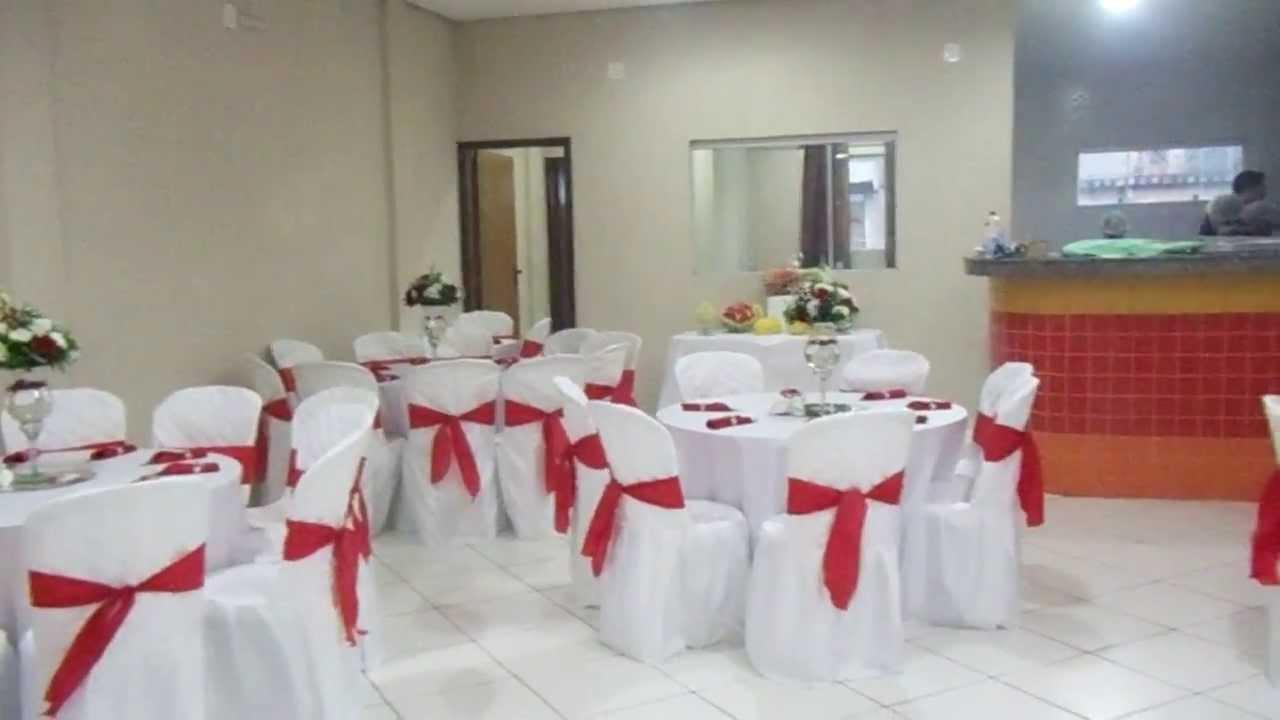 du Chef  Buffet  Decoração vermelho e branco  mesas  YouTube
