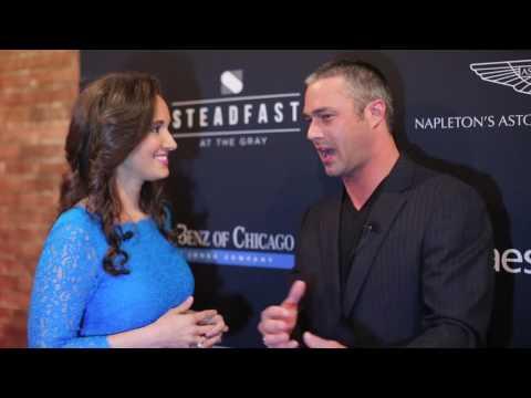 ChicagoMod Red Carpet: Taylor Kinney tells Showbiz Shelly Everything