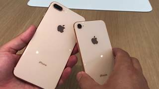 En titt på iPhone 8 och iPhone 8 Plus