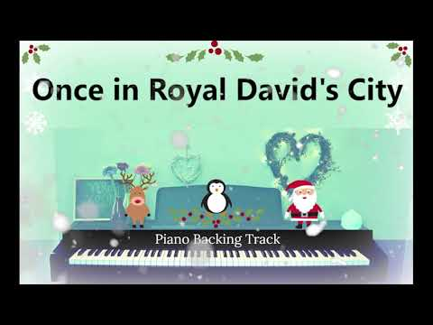 ONCE IN ROYAL DAVID'S CITY | Christmas Backing Track | Verba Vocal