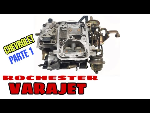 Como Reparar El Carburador De Blazer, S-10, Citation, X11, Celebrity Century