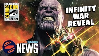 Avengers: Infinity War Details! - SDCC 2017