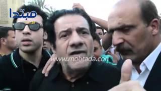مظهر أبو النجا يكشف سبب غياب الفنانين في جنازة سيد زيان