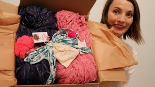 Kristy Glass Knits: Knit Collage Fall KAL UNBOXING!