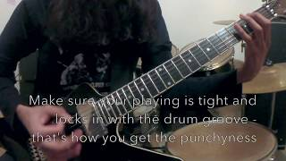 Смотреть клип 5 Types of BLACK METAL Guitar Riffs and How To Play Them! онлайн