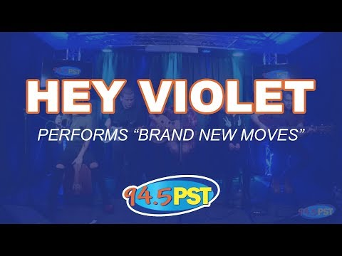 Hey Violet Performs Brand New Moves In The PST Princeton Plastic Surgeons Live Lounge