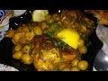 مطبخ ميليسا كهينا دجاج محمر بالزيتون على الطريقة المغربية poulet rotis a la marocaine