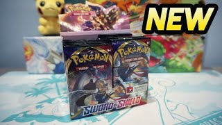 *EARLY* Pokemon Sword and Shield Booster Box Opening