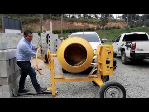 Uso y operación de concretera o mezcladora SIRL BT330R thumbnail
