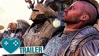 THE ELDER SCROLLS ONLINE: MORROWIND Gameplay Trailer German Deutsch (2017) PS4, Xbox One, PC Game