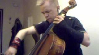 RHCP Scar Tissue Funk-cello cover by Elias Kahila