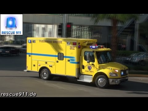 [Las Vegas] Rescue 32 Clark County Fire Department