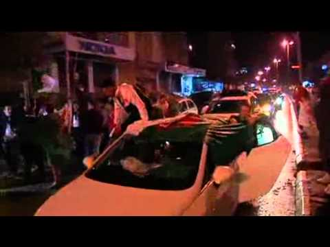Fans Celebrate As Algeria Qualify For The World Cup